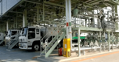 Tank Truck and Marine Loading System